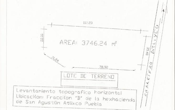 Foto de terreno comercial en renta en  nonumber, santa cruz tehuispango, atlixco, puebla, 388664 No. 01