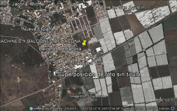Foto de terreno habitacional en venta en  nonumber, tabachines, jacona, michoac?n de ocampo, 385376 No. 14