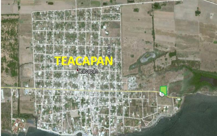 Foto de terreno comercial en venta en  nonumber, teacapan, escuinapa, sinaloa, 1592434 No. 02