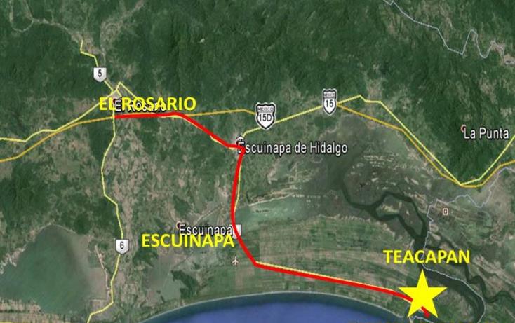 Foto de terreno comercial en venta en  nonumber, teacapan, escuinapa, sinaloa, 1592434 No. 04