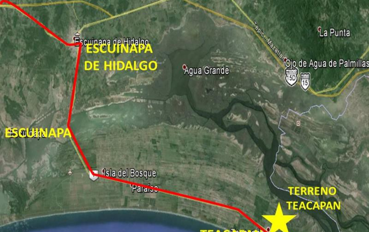 Foto de terreno comercial en venta en  nonumber, teacapan, escuinapa, sinaloa, 1592434 No. 05