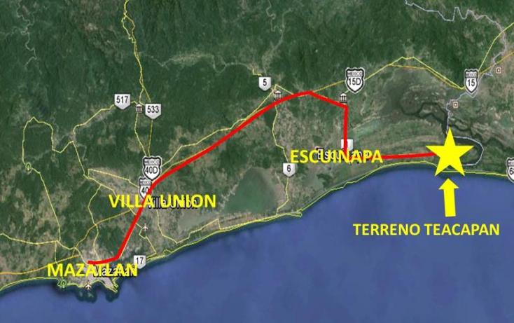 Foto de terreno comercial en venta en  nonumber, teacapan, escuinapa, sinaloa, 1592434 No. 06