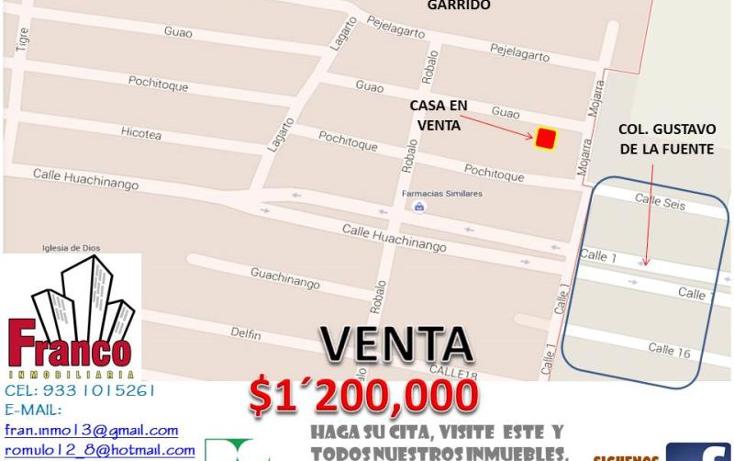Foto de casa en venta en  nonumber, tomas garrido, comalcalco, tabasco, 1444743 No. 04