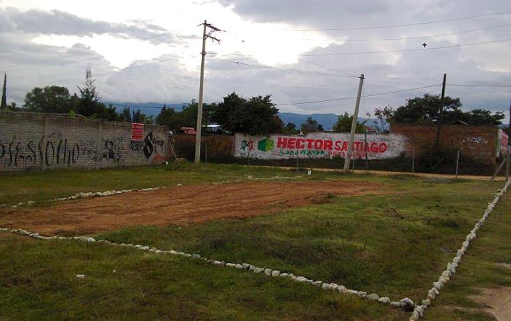 Foto de terreno habitacional en venta en  nonumber, unión, santa cruz xoxocotlán, oaxaca, 419176 No. 02