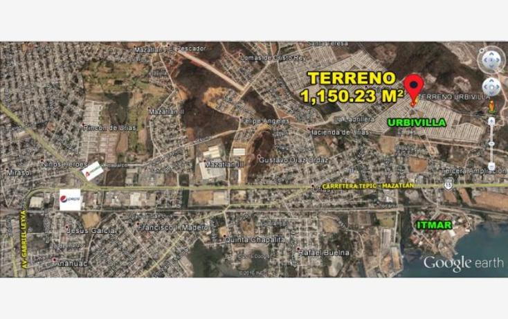 Foto de terreno habitacional en venta en  nonumber, urbivilla del real, mazatl?n, sinaloa, 1623312 No. 05
