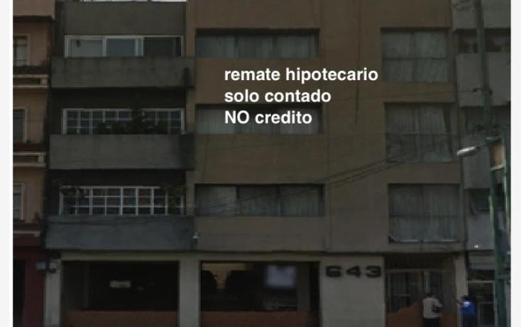 Foto de departamento en venta en  nonumber, vertiz narvarte, benito juárez, distrito federal, 1476567 No. 03