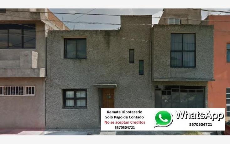 Foto de casa en venta en norte 88 a 1, gertrudis s?nchez 2a secci?n, gustavo a. madero, distrito federal, 1807536 No. 01
