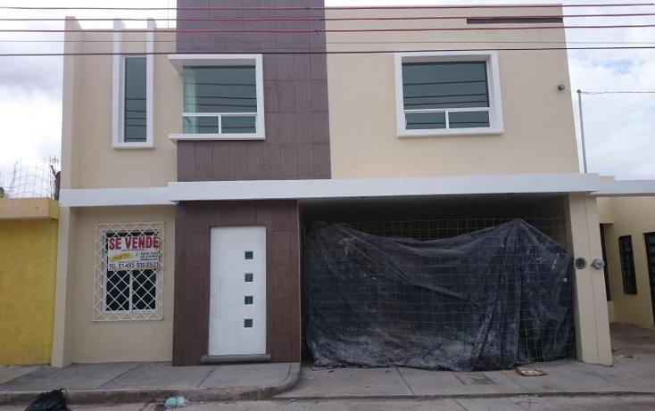 Foto de casa en venta en samuel quiñones n/p, emiliano zapata, fresnillo, zacatecas, 1827382 No. 01