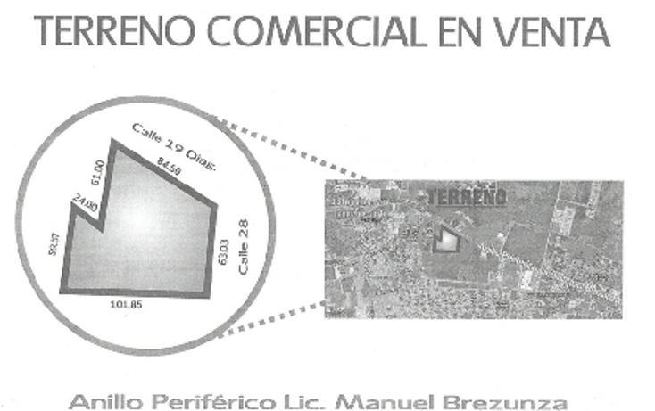 Foto de terreno comercial en venta en  , núcleo sodzil, mérida, yucatán, 937643 No. 01