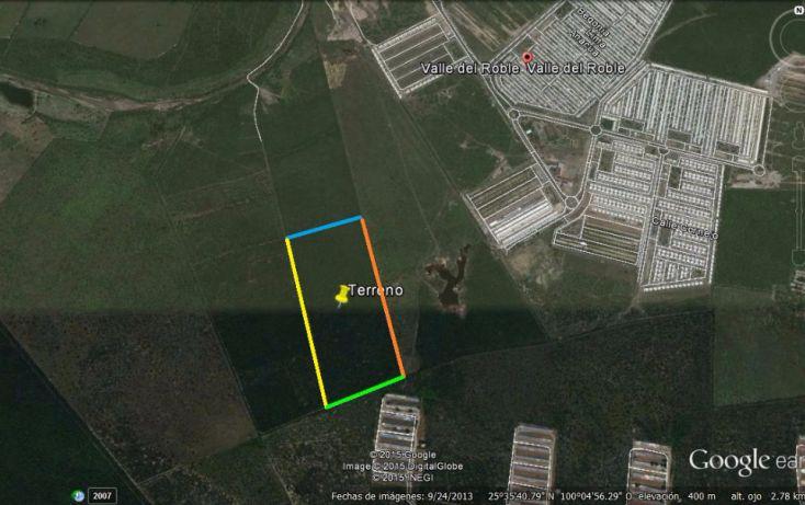 Foto de terreno comercial en venta en, nueva cadereyta, cadereyta jiménez, nuevo león, 1828612 no 03