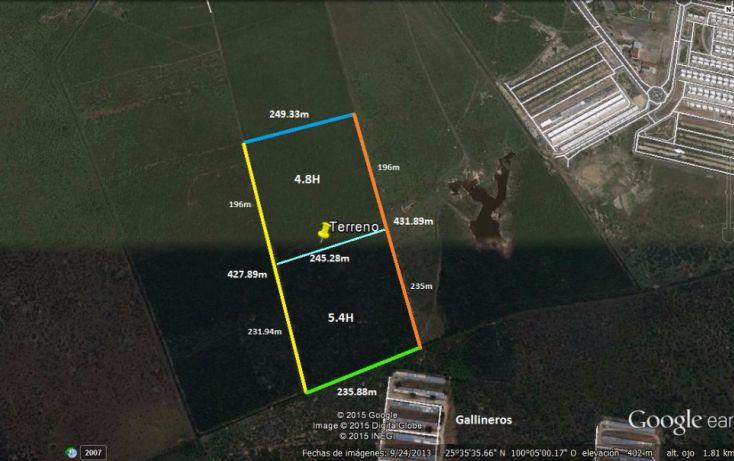 Foto de terreno comercial en venta en, nueva cadereyta, cadereyta jiménez, nuevo león, 1828612 no 04