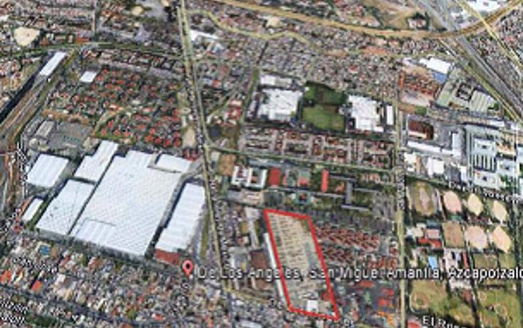 Foto de terreno habitacional en venta en  , nueva el rosario, azcapotzalco, distrito federal, 878487 No. 01