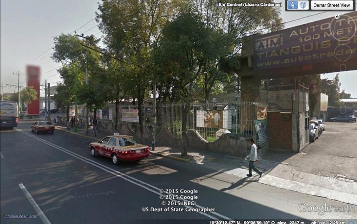 Foto de terreno comercial en venta en  , nueva industrial vallejo, gustavo a. madero, distrito federal, 1256541 No. 04