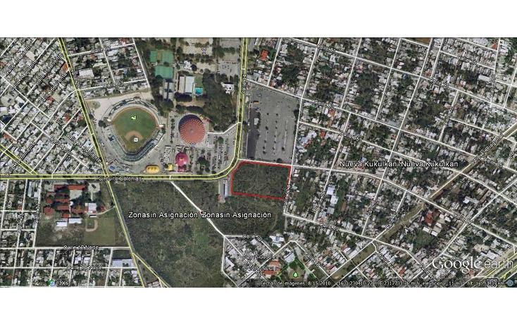 Foto de terreno comercial en venta en  , nueva kukulkan, mérida, yucatán, 1170011 No. 01