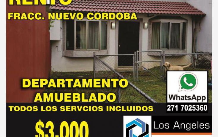Foto de departamento en renta en, nuevo córdoba, córdoba, veracruz, 1434029 no 01