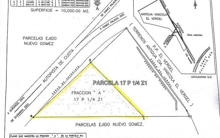 Foto de terreno habitacional en venta en  , nuevo gómez, gómez palacio, durango, 1423679 No. 03