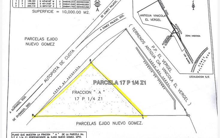 Foto de terreno habitacional en venta en, nuevo gómez, gómez palacio, durango, 1425625 no 05