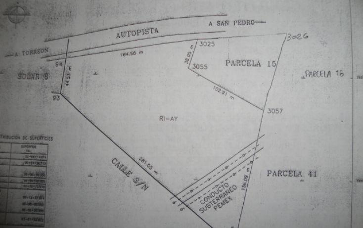 Foto de terreno habitacional en venta en, nuevo jaboncillo, francisco i madero, coahuila de zaragoza, 1028317 no 07