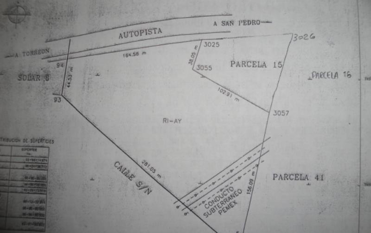 Foto de terreno comercial en venta en  , nuevo jaboncillo, francisco i. madero, coahuila de zaragoza, 510581 No. 07