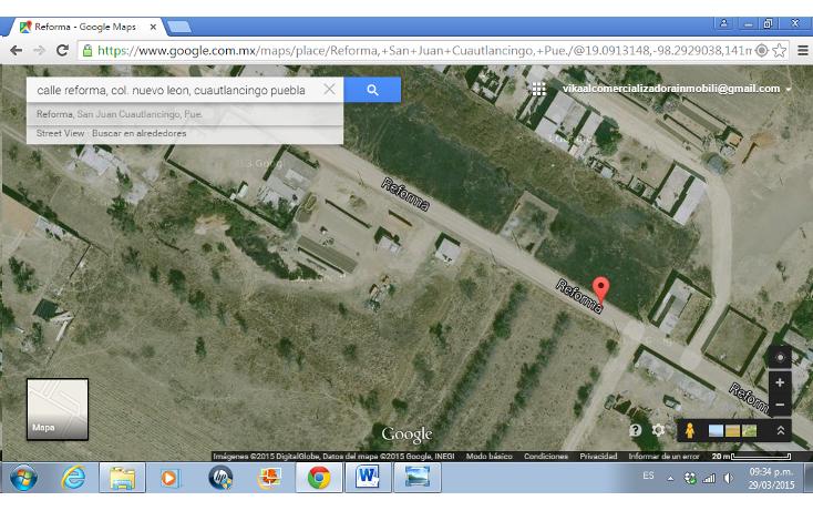 Foto de terreno habitacional en venta en  , nuevo le?n, cuautlancingo, puebla, 1284029 No. 04