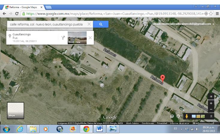 Foto de terreno habitacional en venta en  , nuevo le?n, cuautlancingo, puebla, 1284029 No. 05
