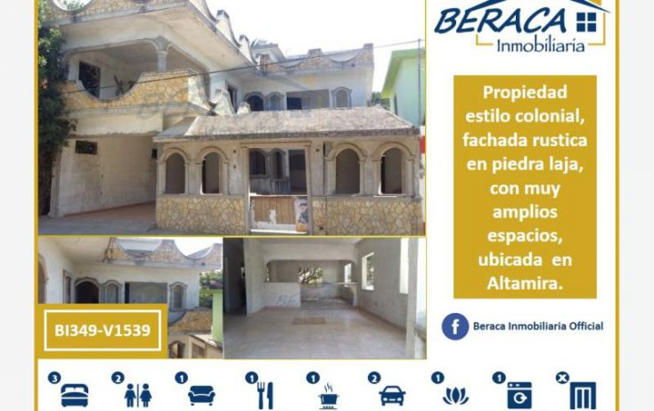 Foto de casa en venta en, nuevo madero s4, altamira, tamaulipas, 1736402 no 01