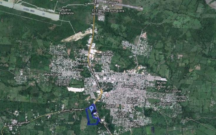 Foto de terreno habitacional en venta en, nuevo paraíso, palenque, chiapas, 486381 no 02