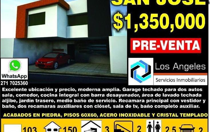 Foto de casa en venta en  , nuevo san jose, córdoba, veracruz de ignacio de la llave, 1629726 No. 01