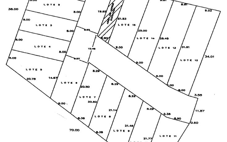 Foto de terreno habitacional en venta en  , nuevo yucatán, mérida, yucatán, 1062779 No. 02