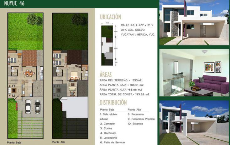 Foto de casa en venta en, nuevo yucatán, mérida, yucatán, 1132317 no 01