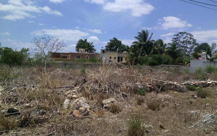 Foto de terreno habitacional en venta en  , nuevo yucatán, mérida, yucatán, 1182465 No. 01