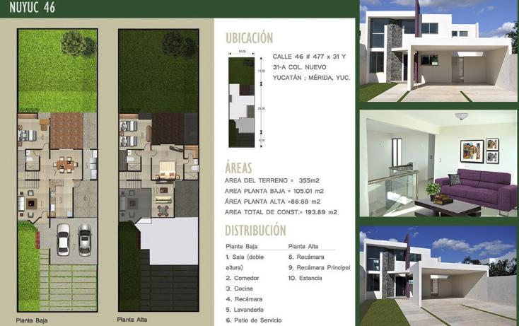 Foto de casa en venta en  , nuevo yucat?n, m?rida, yucat?n, 1294665 No. 01
