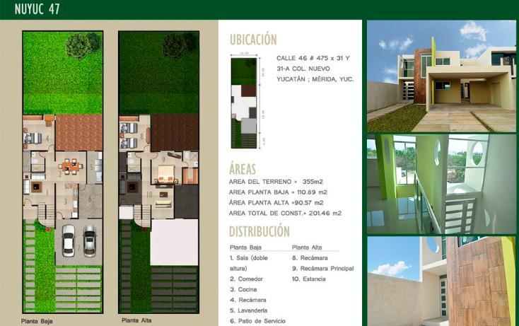 Foto de casa en venta en  , nuevo yucatán, mérida, yucatán, 1730290 No. 01