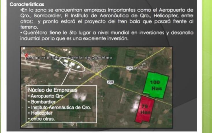 Foto de terreno industrial en venta en  o, querétaro, querétaro, querétaro, 958079 No. 03