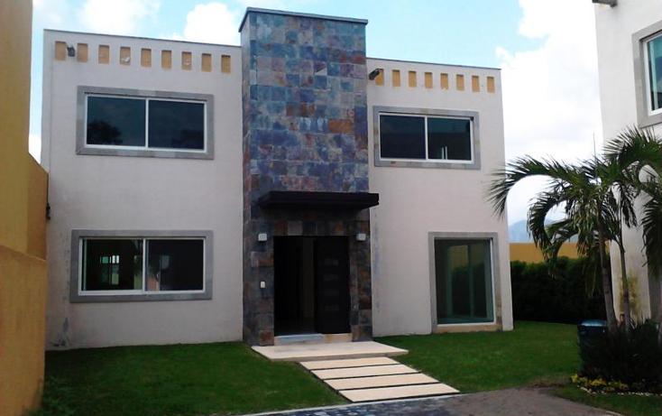 Foto de casa en venta en  , oaxtepec centro, yautepec, morelos, 396293 No. 01