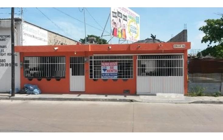 Foto de casa en renta en  , obrera, carmen, campeche, 1281433 No. 01