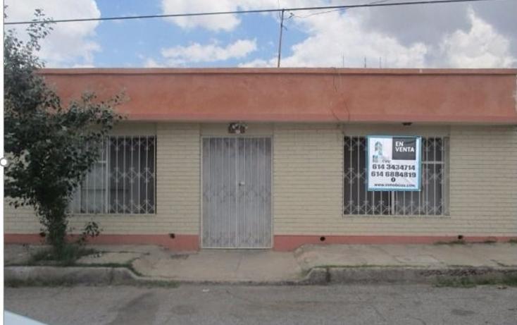 Foto de casa en venta en  , obrera, chihuahua, chihuahua, 1474519 No. 01