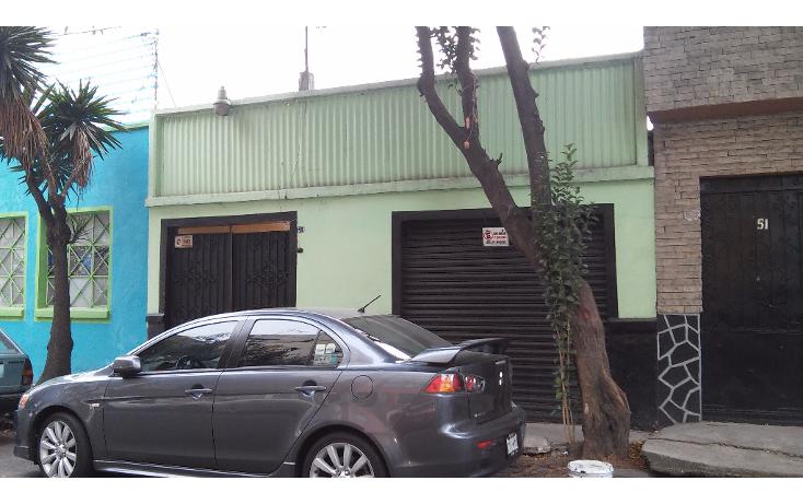 Foto de terreno habitacional en venta en  , obrera, cuauht?moc, distrito federal, 1260233 No. 01