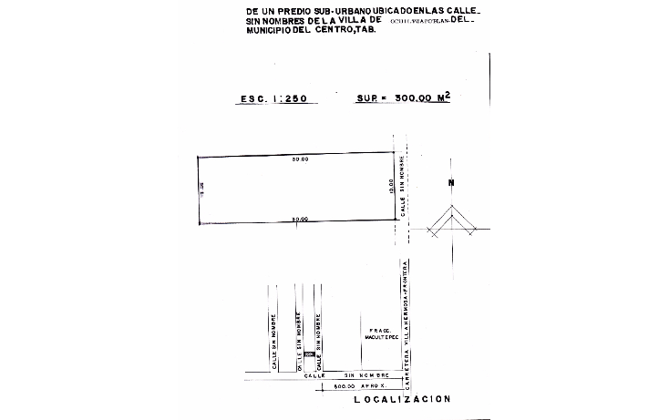 Foto de terreno comercial en venta en  , ocuiltzapotlan, centro, tabasco, 1289099 No. 01