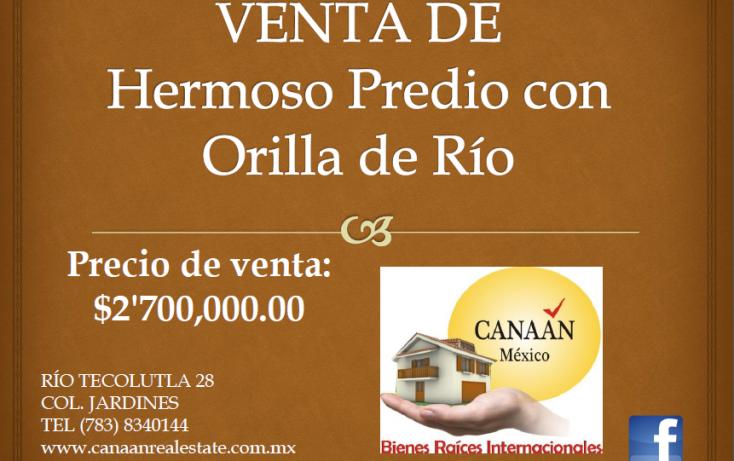 Foto de terreno habitacional en venta en, ojite, tuxpan, veracruz, 1097001 no 02