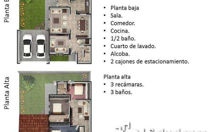 Foto de casa en venta en  , ojo de agua, zinacantepec, méxico, 497091 No. 02
