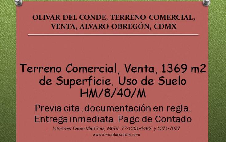 Foto de nave industrial en venta en  , olivar del conde 1a secci?n, ?lvaro obreg?n, distrito federal, 1043737 No. 01