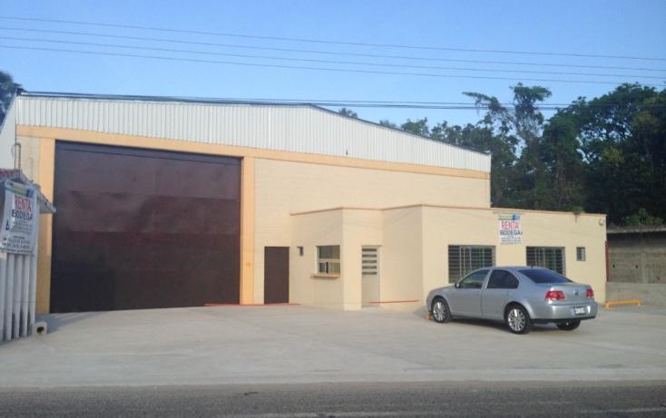 Foto de nave industrial en renta en  , oriente 1a sección, paraíso, tabasco, 1463291 No. 01