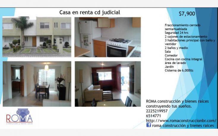 Foto de casa en renta en orion norte 13523, exhacienda cortijo de san martinito, san andrés cholula, puebla, 1594400 no 01