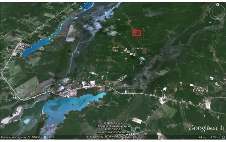 Foto de terreno habitacional en venta en  , oth?n p blanco, jos? mar?a morelos, quintana roo, 1100657 No. 02