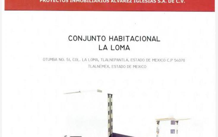 Foto de departamento en venta en otumba 51, la loma, tlalnepantla de baz, estado de méxico, 1848598 no 02