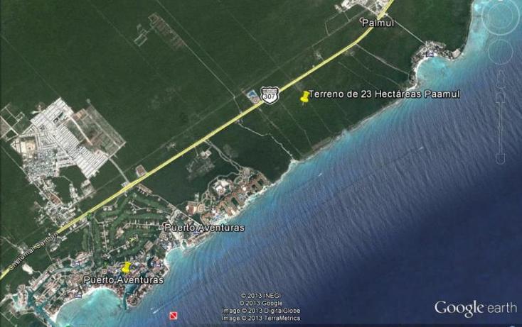 Foto de terreno comercial en venta en carretera federal puerto aventuras - playa de carmen , paamul, solidaridad, quintana roo, 522641 No. 01
