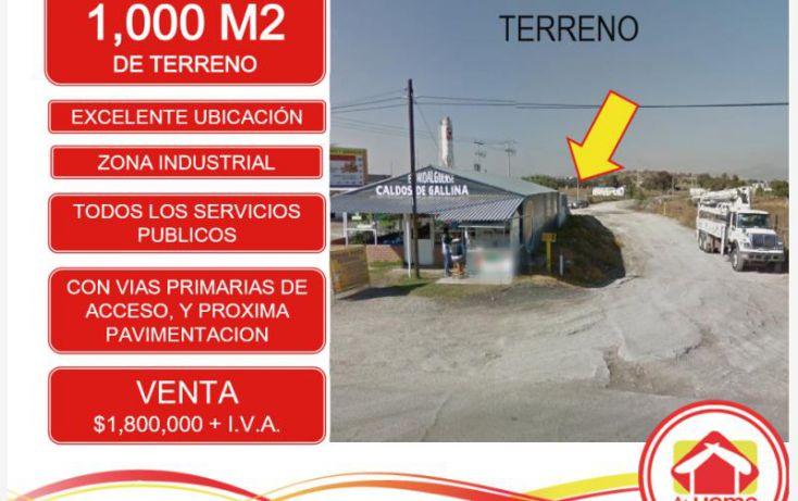 Foto de terreno industrial en venta en pachuca sahagun, el saucillo, mineral de la reforma, hidalgo, 1388221 no 02