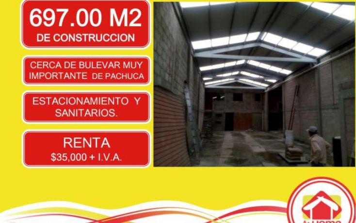 Foto de bodega en renta en pachucasahagun 01, el saucillo, mineral de la reforma, hidalgo, 1457569 no 02