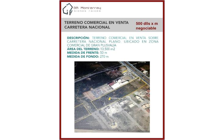 Foto de terreno comercial en venta en  , palmares 1er sector, monterrey, nuevo le?n, 1757422 No. 02